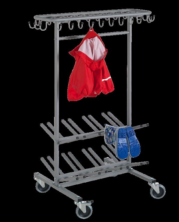 Klädvagn Roller Flex